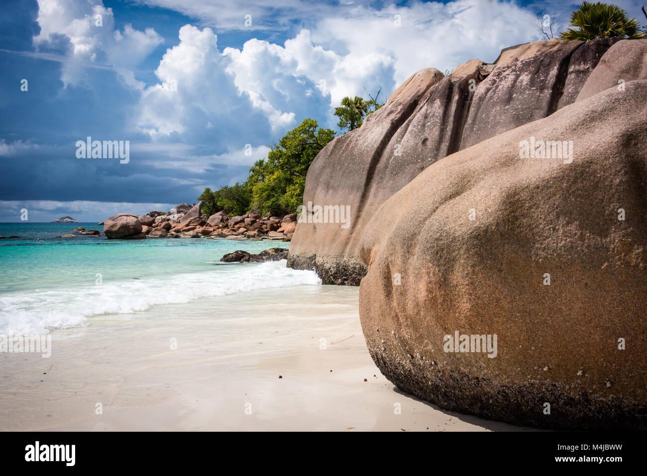 Anse Lazio, Praslin, Seychelles - Stock Image