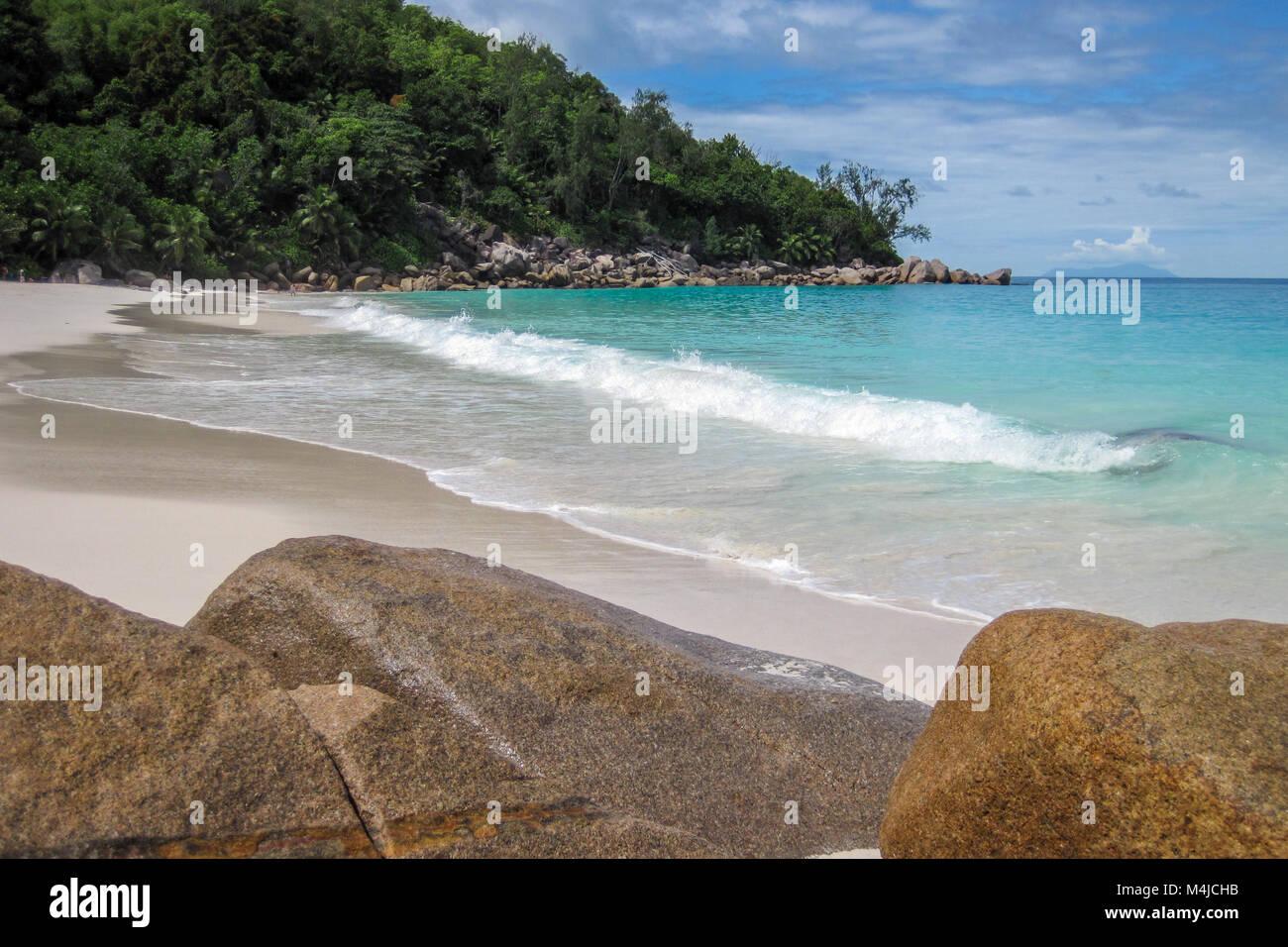 Anse Georgette, Praslin, Seychelles - Stock Image