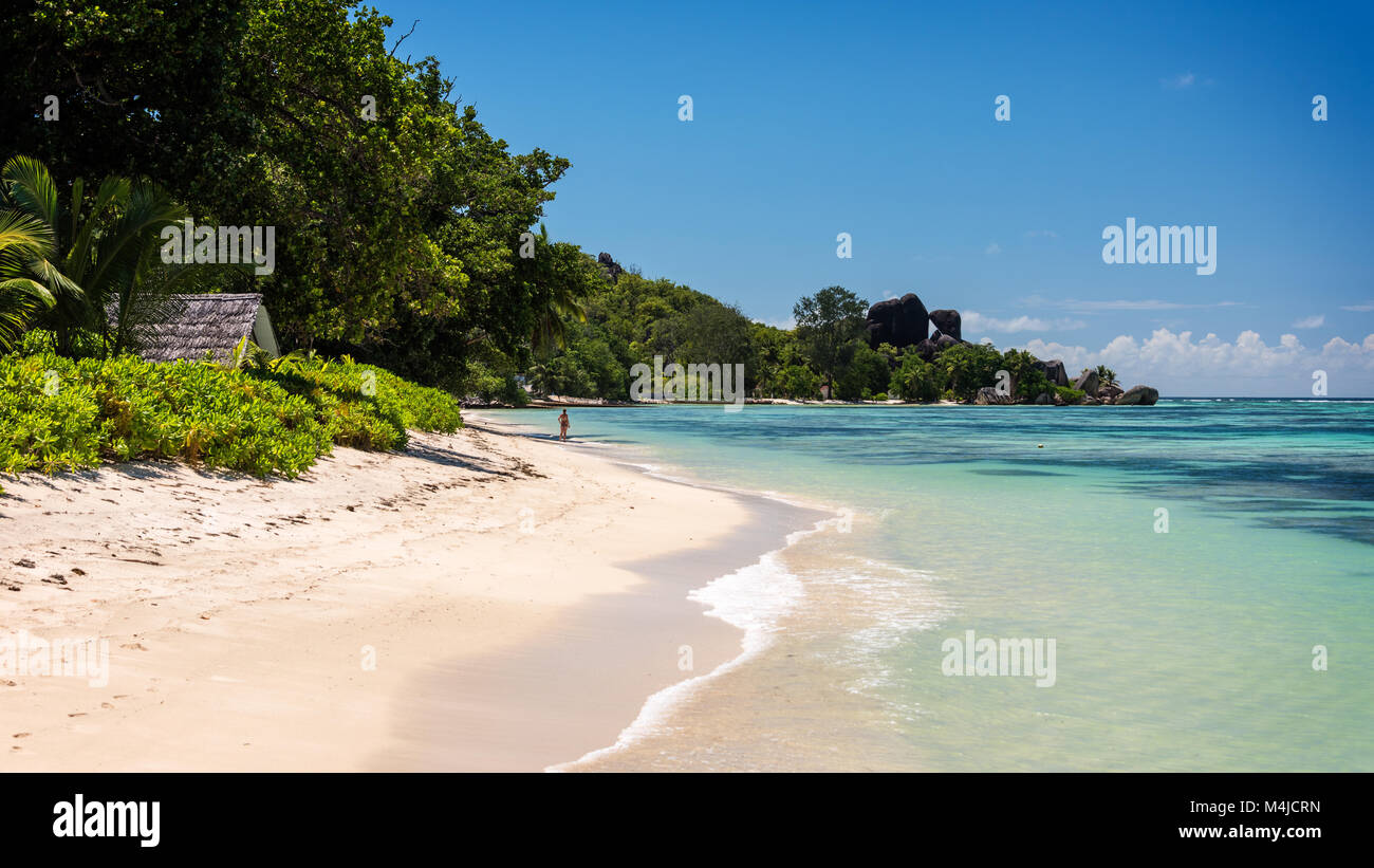 Anse Union, La Digue, Seychelles - Stock Image