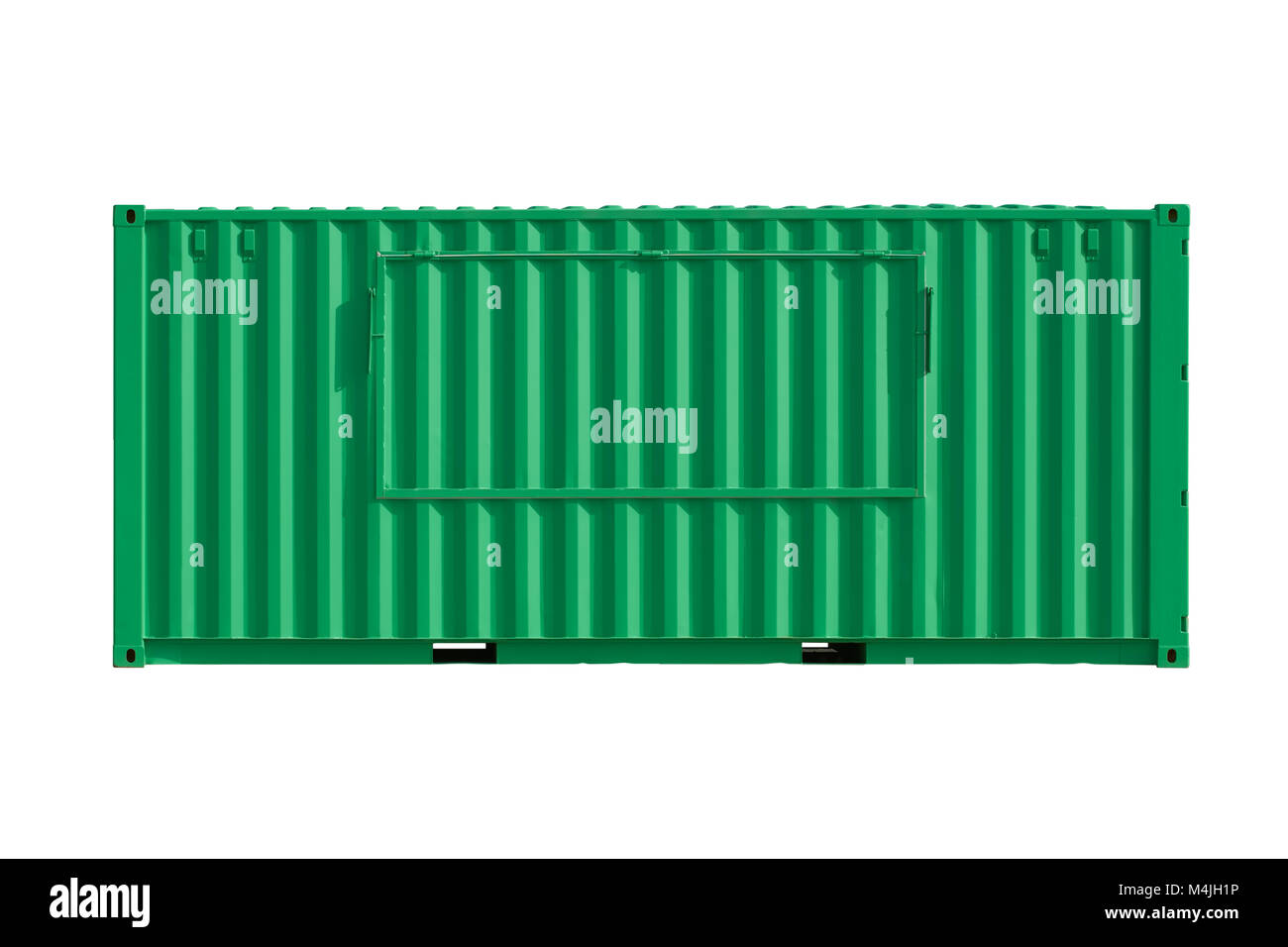 Intermodal  Shipping Container - Stock Image