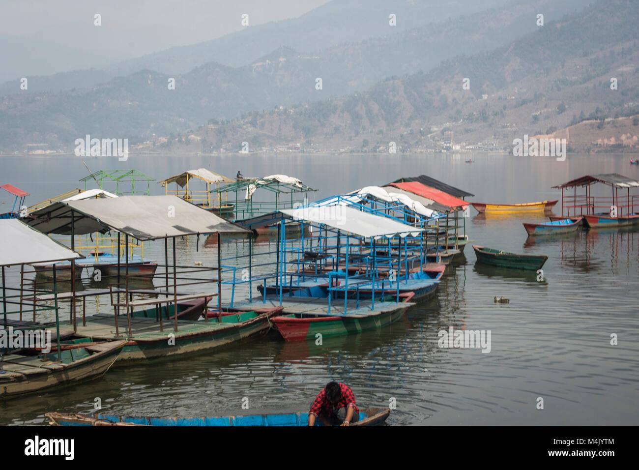 Phewa Tal Lake - Stock Image