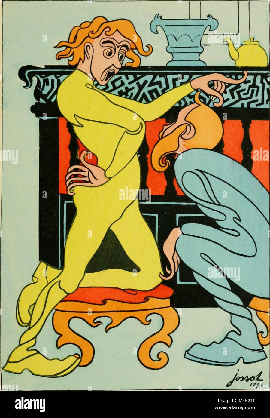 Artistes et bourgeois - Vingt-quatre compositions (1894) (14593556719) - Stock Image