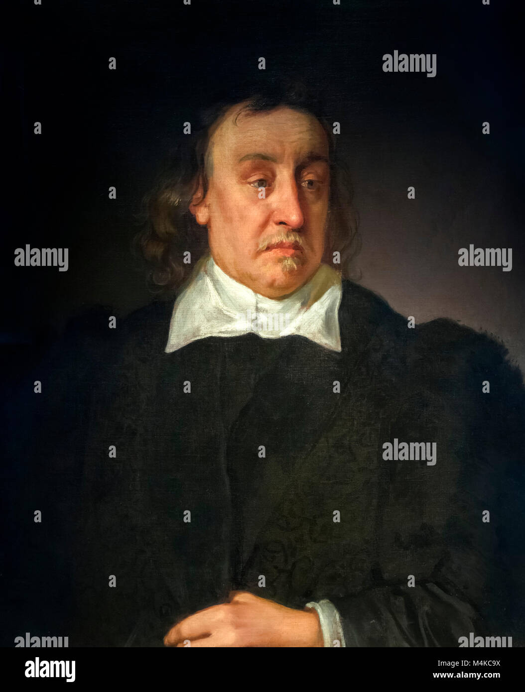 Sir Francis Prujean (1593-1666), attribute to Robert Streater, oil on canvas, c.1662. - Stock Image