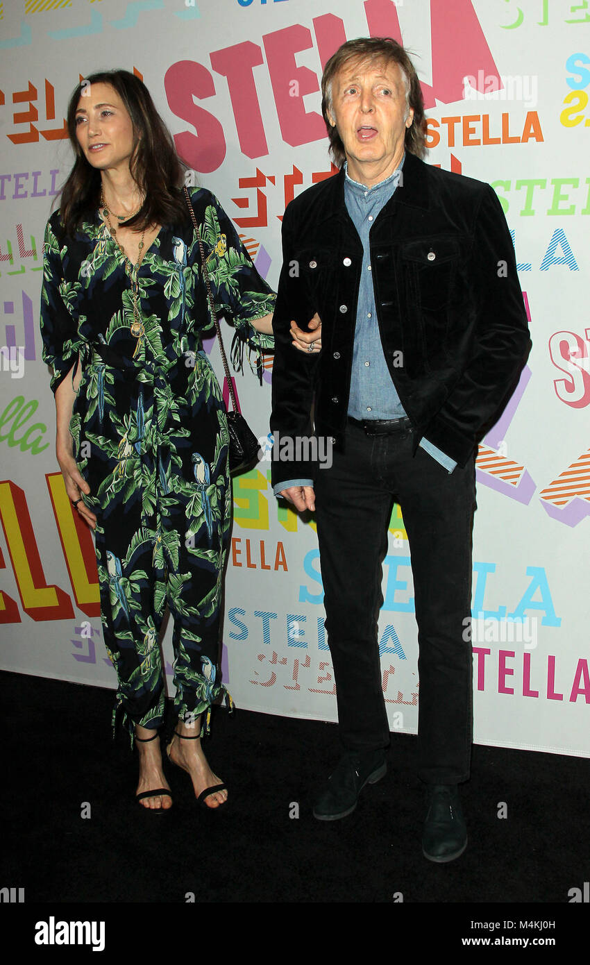 Stella McCartney Autumn 2018 Presentation Held At SIR Studios In Los Angeles California Featuring Paul Wife Nancy Shevell Where Pasadena
