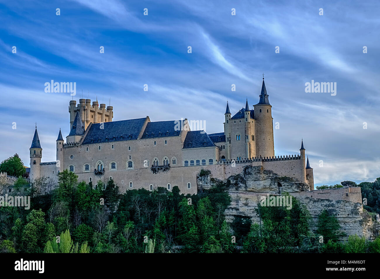 Alcazar, Sergovia, Spain Stock Photo