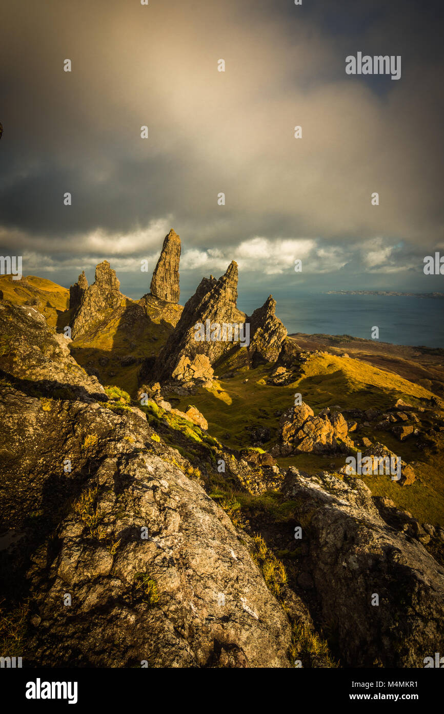 The Old Man of Storr, Isle of Skye - Stock Image
