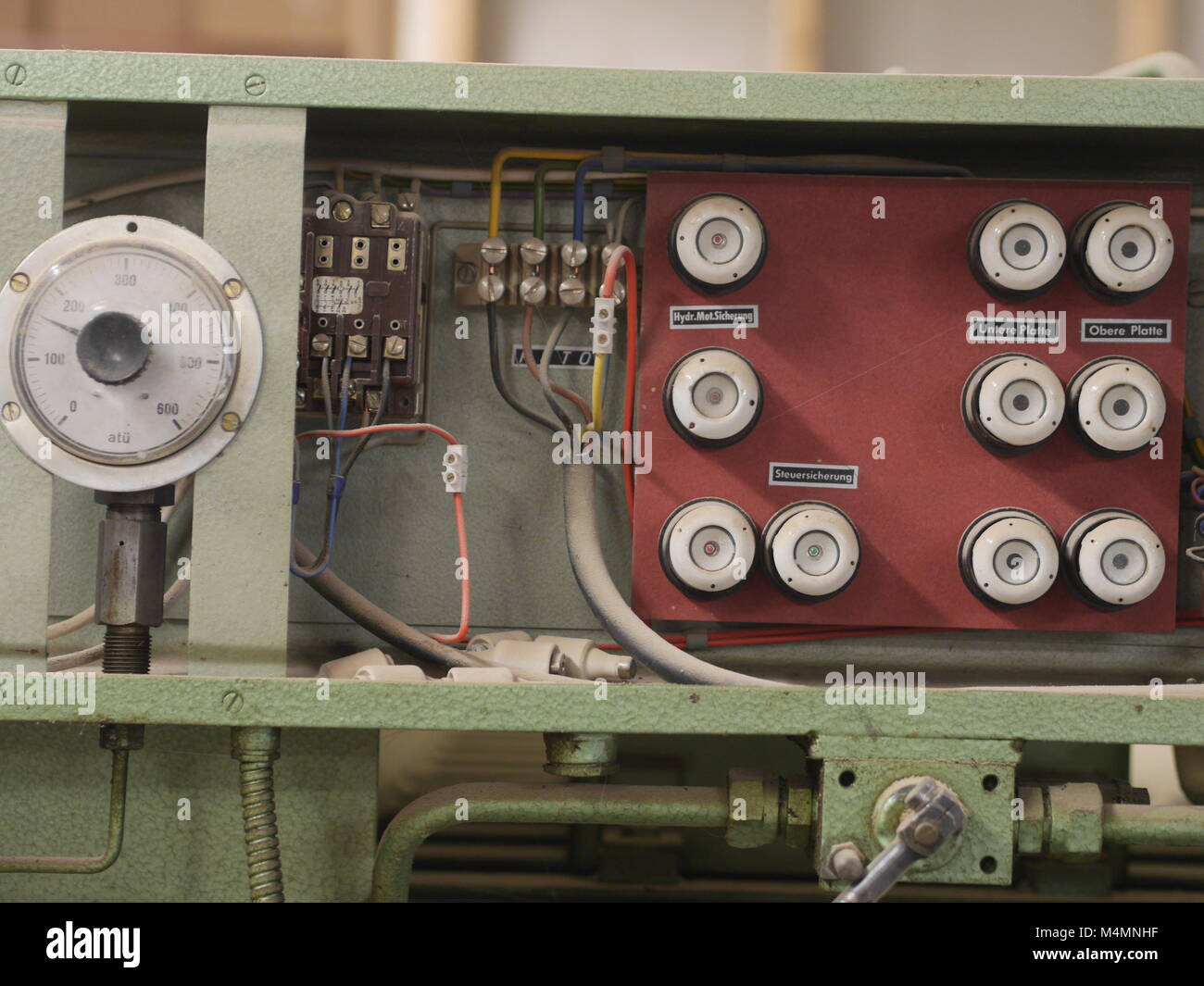 Old Electrical Box Stock Photos Images Style Push Button Fuse Fuses Image