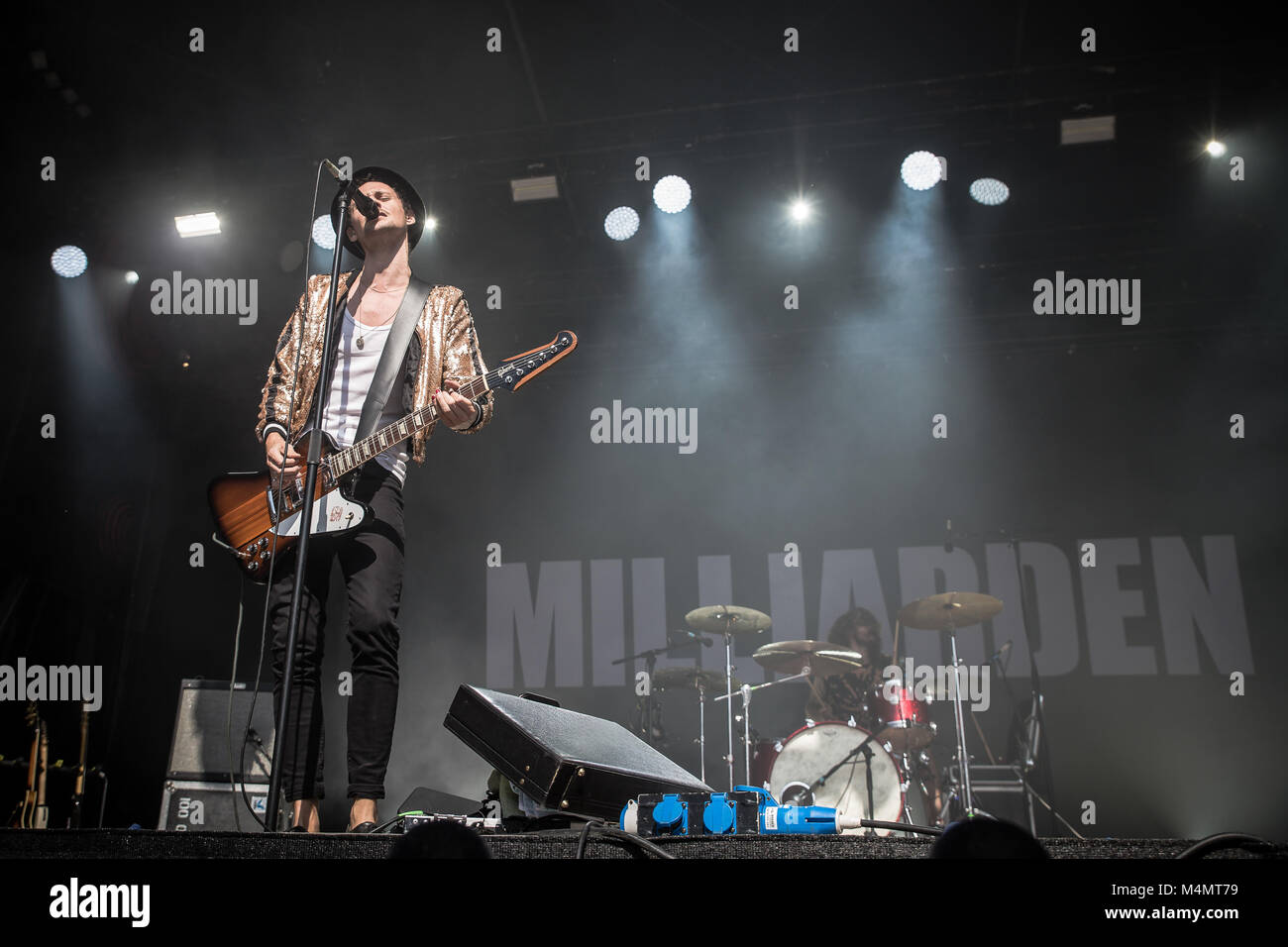 Milliarden - Stock Image