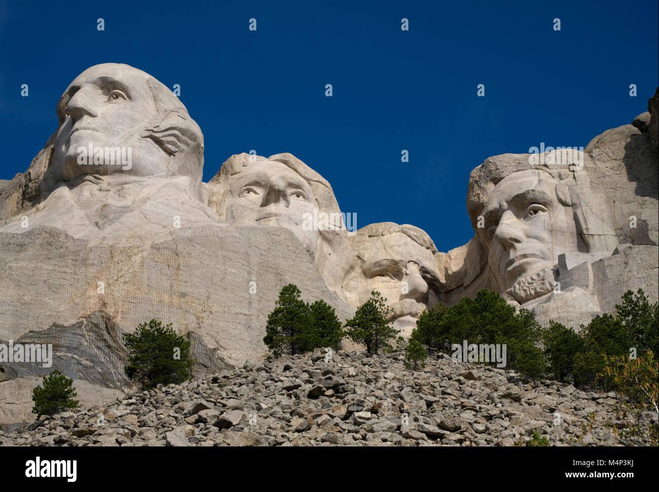 Mount Rushmore - Stock Image