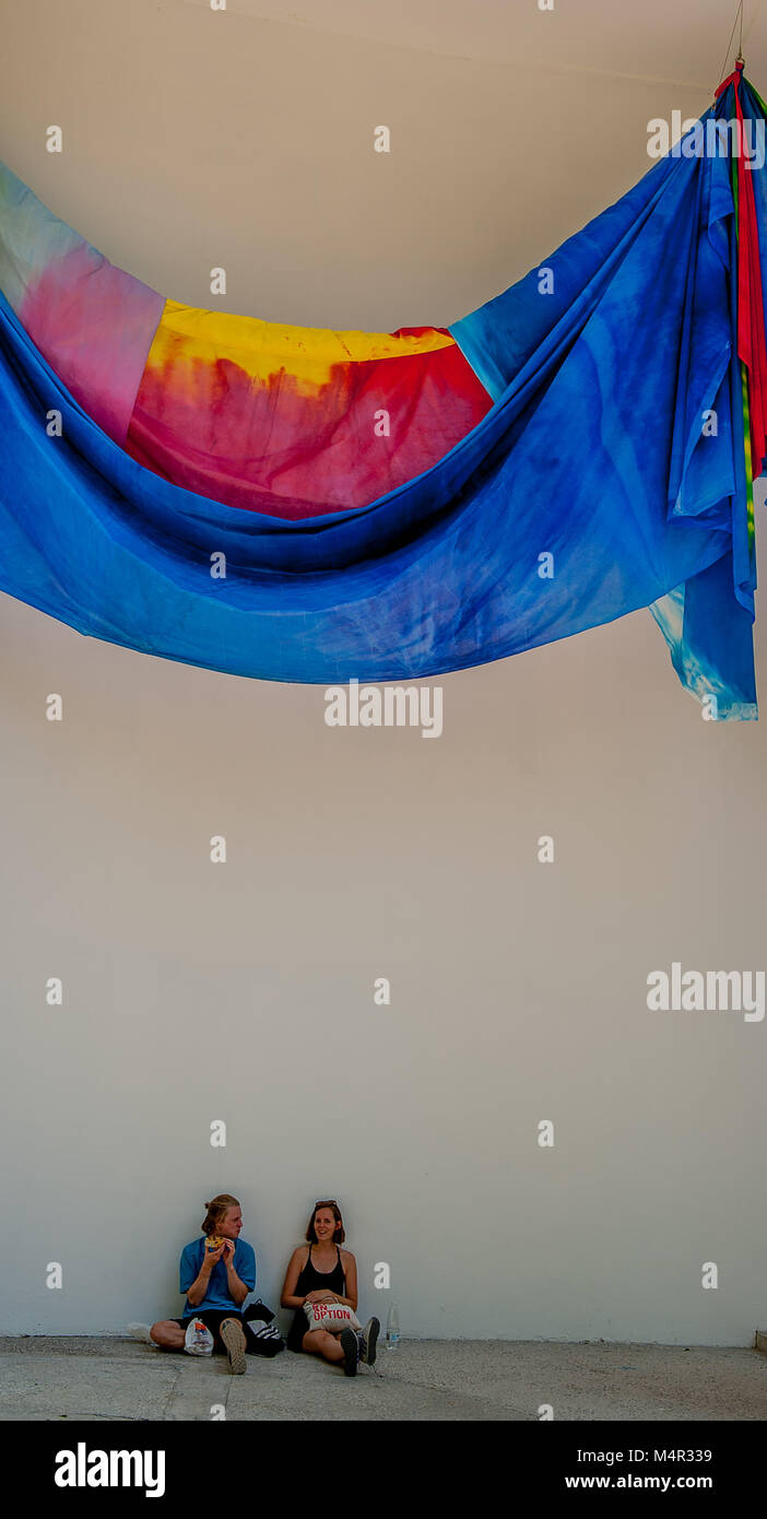 Venice italia August 2017: 57th biennial of art - Stock Image