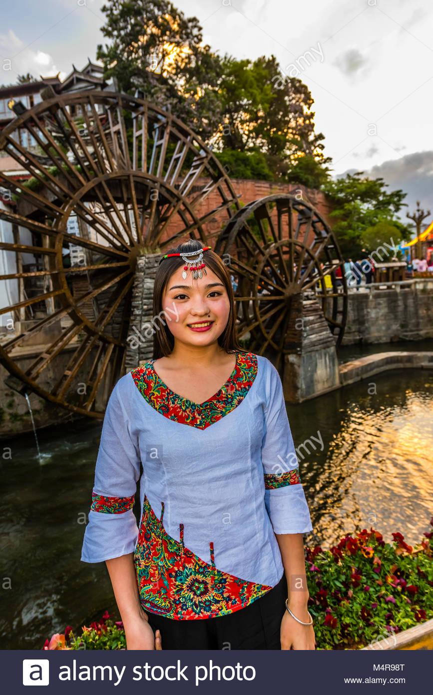 Lijiang, Yunnan Province, China. - Stock Image
