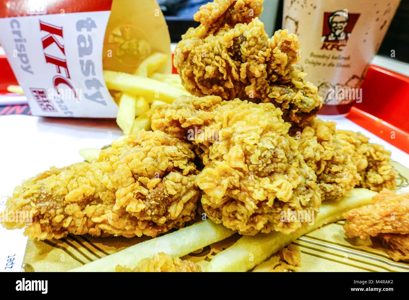 Kentucky Fried Chicken Meal: Kentucky Fried Chicken Food Stock Photos & Kentucky Fried