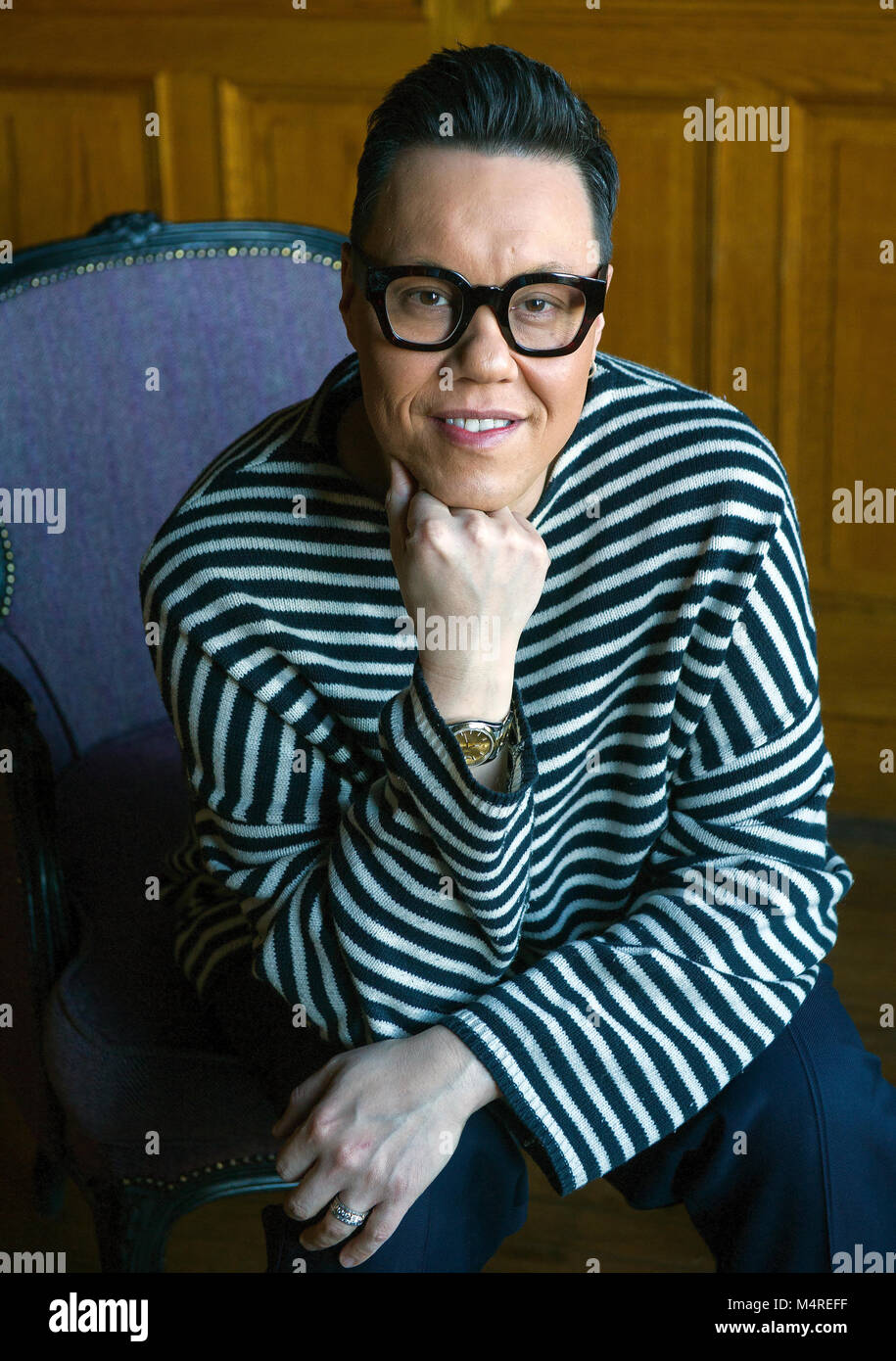 Gok Wan, English fashion consultant, author and television presenter, Edinburgh. - Stock Image