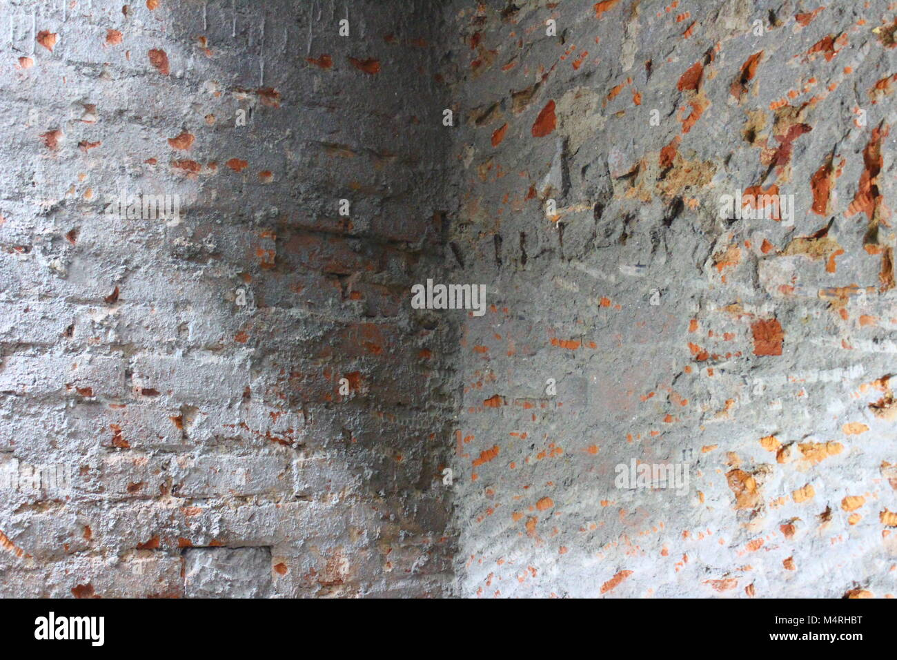 Dampness on walls - Stock Image