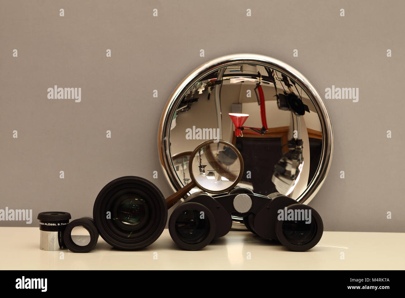 Optics - still life - Stock Image