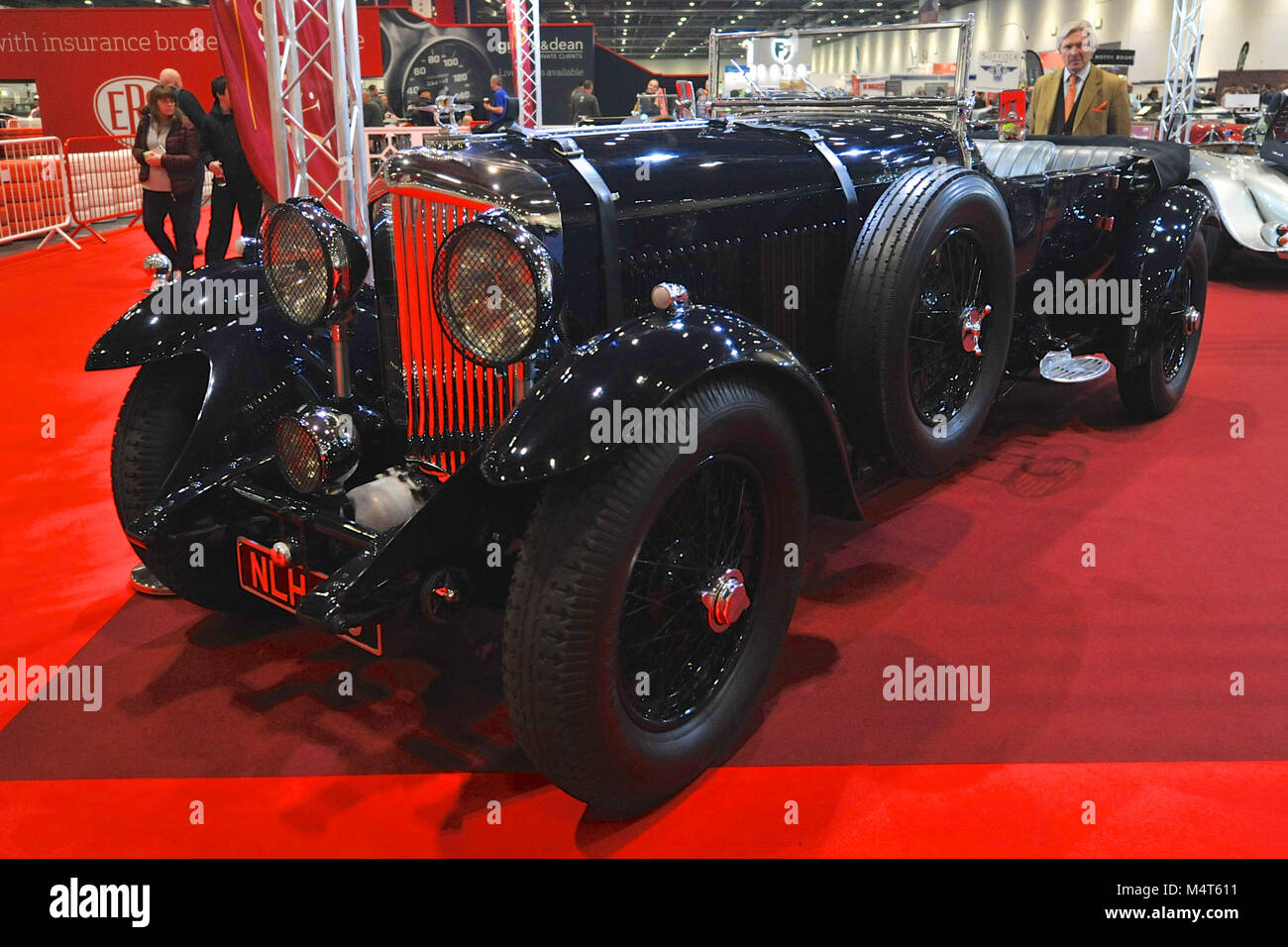 A Bentley Litre Tourer On Display At The London Classic Car - Car show displays for sale