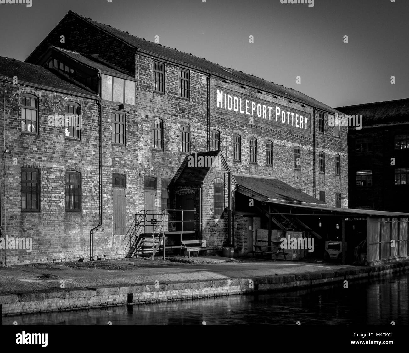 Middleport Pottery Factory - Stock Image