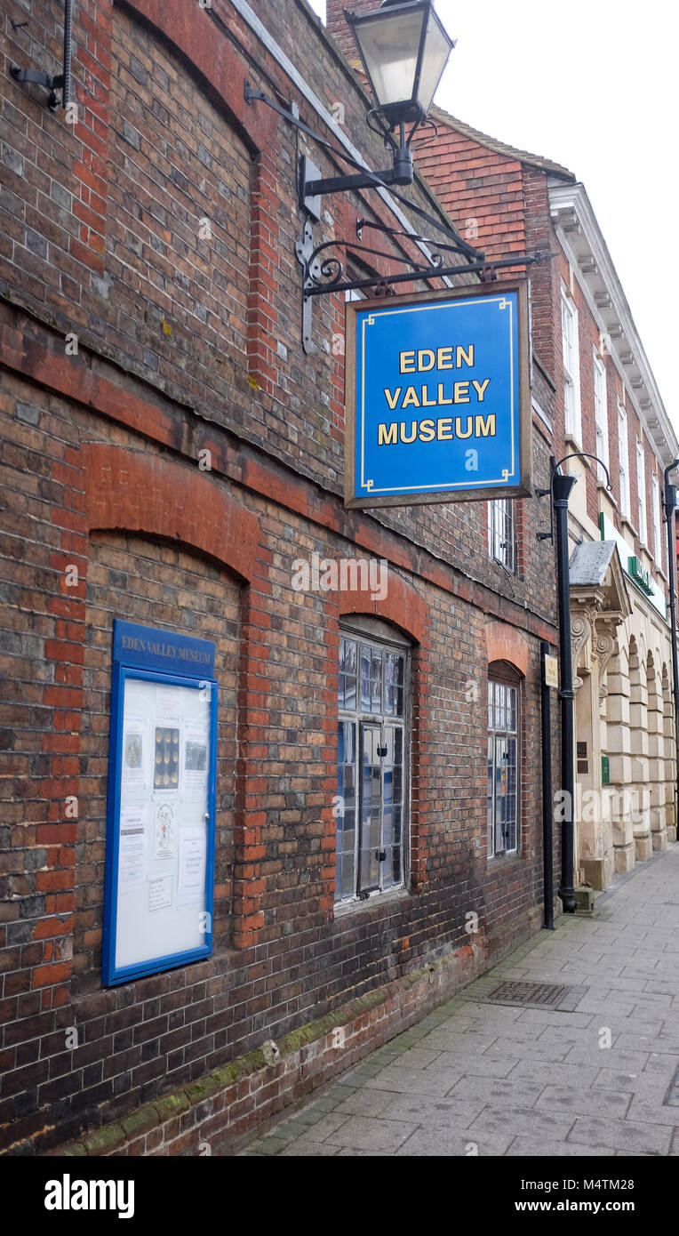 Edenbridge Kent UK  - The Eden Valley Museum and council offices - Stock Image