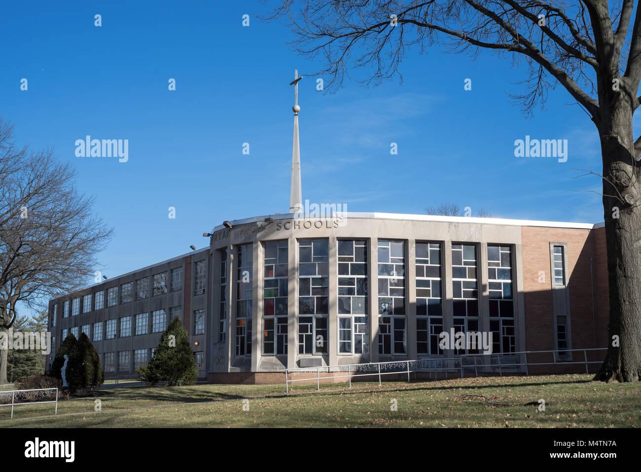 Archbishop Ryan High School, Northeast Philadelphia, USA - Stock Image