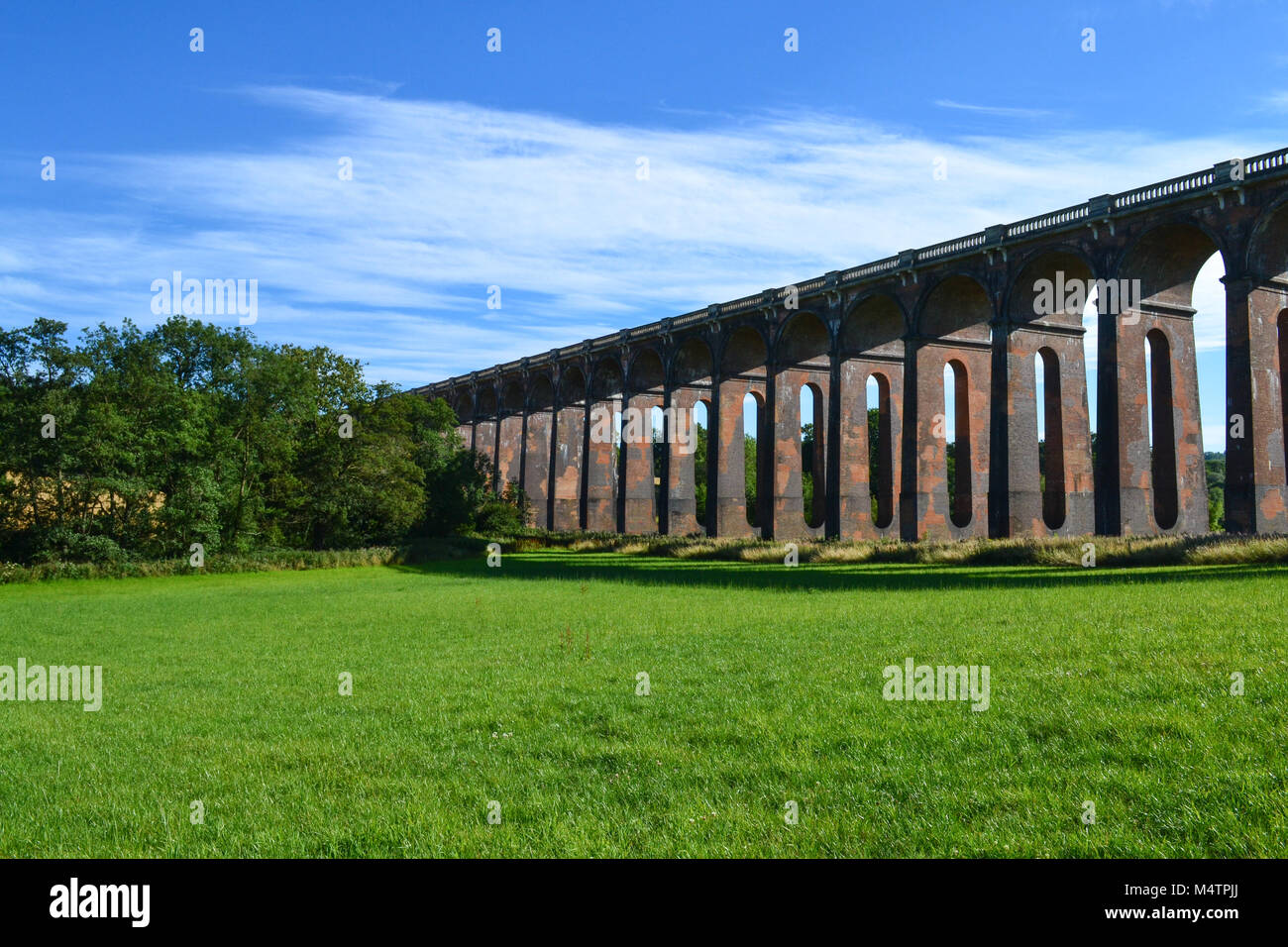 Railway Viaduct, Haywards Heath, West Sussex, UK - Stock Image