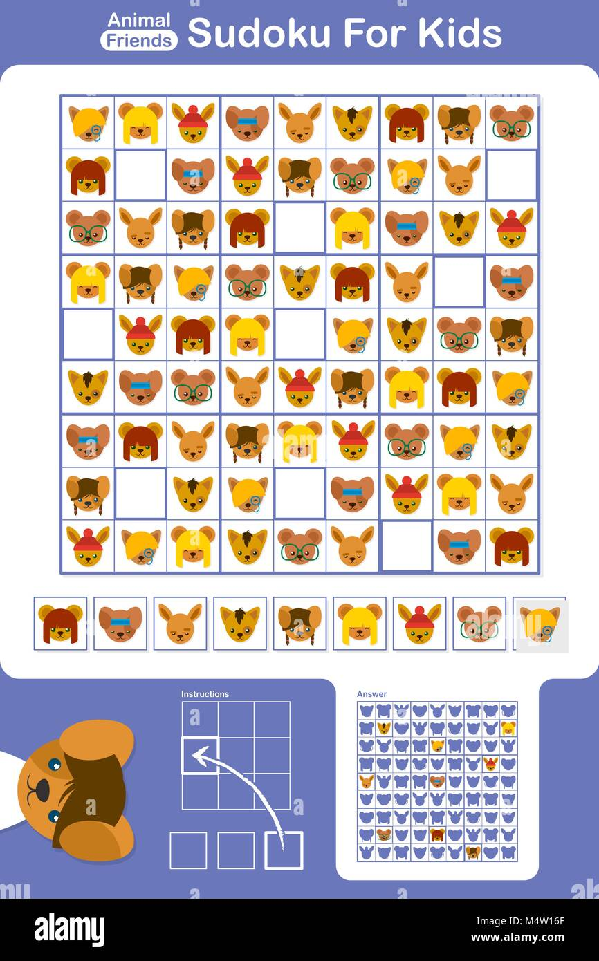 graphic about Sudoku Printable for Kids identify Sudoku very simple printable instructive puzzle grid for most important