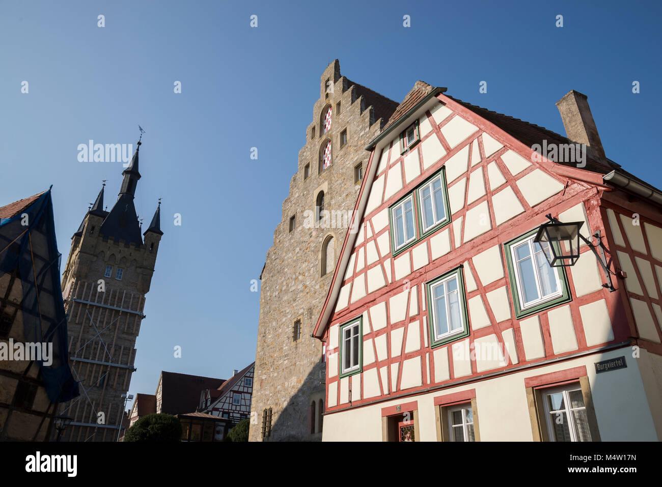Bad Wimpfen, Baden-Württemberg, Deutschland, Europa - Stock Image