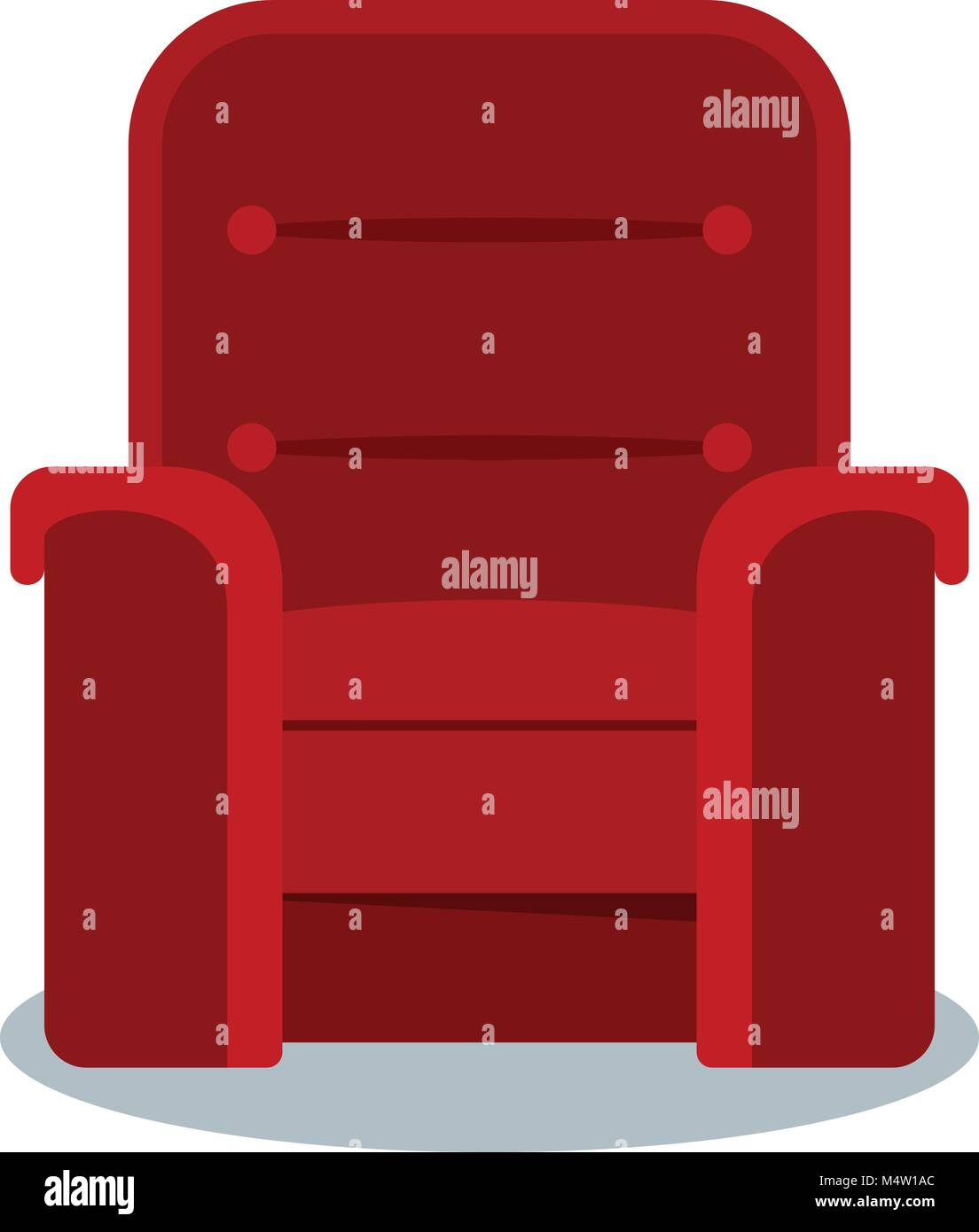 Auditorium And Seats In A Movie Theater Flat Vector Cartoon Cinema Stock Vector Image Art Alamy