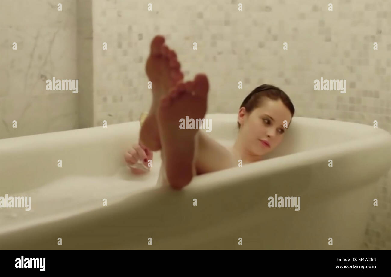 HAVEN'T WE MET BEFORE ? 2013 film directed by Anjelica Houston with Felicity Jones - Stock Image
