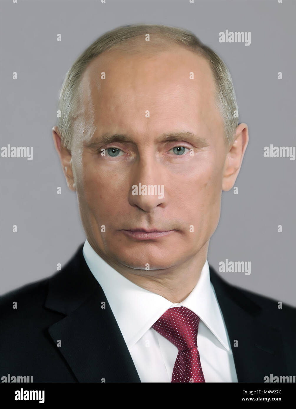 VLADIMIR PUTIN as President of Russia in January 2006. Photo: www.kremlin.ru - Stock Image