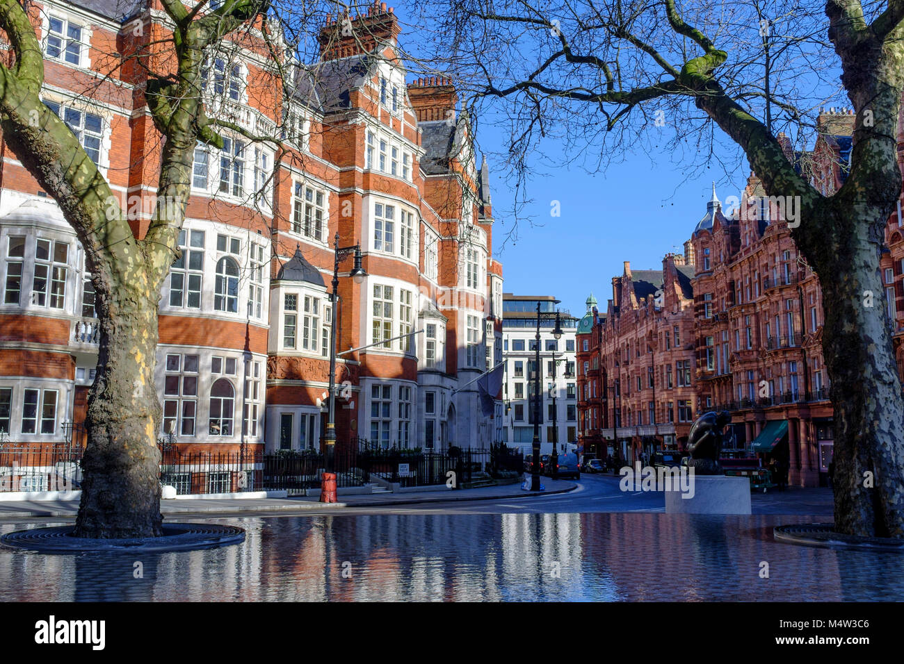 Carlos Place, Mayfair, London, UK - Stock Image