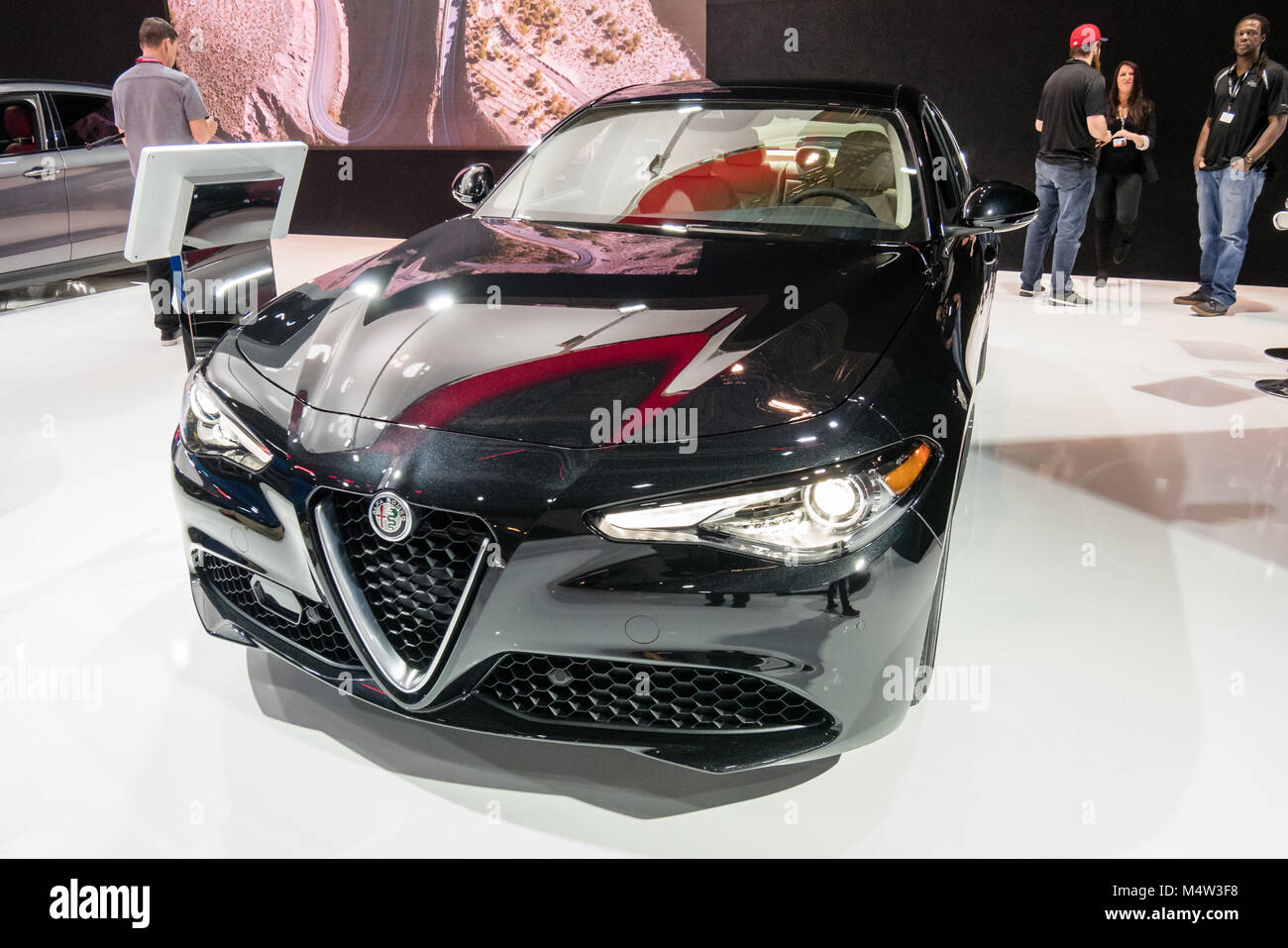 black alfa romeo stock photos & black alfa romeo stock images - alamy