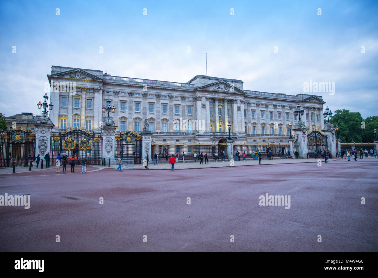 Buckingham Palace, london - Stock Image