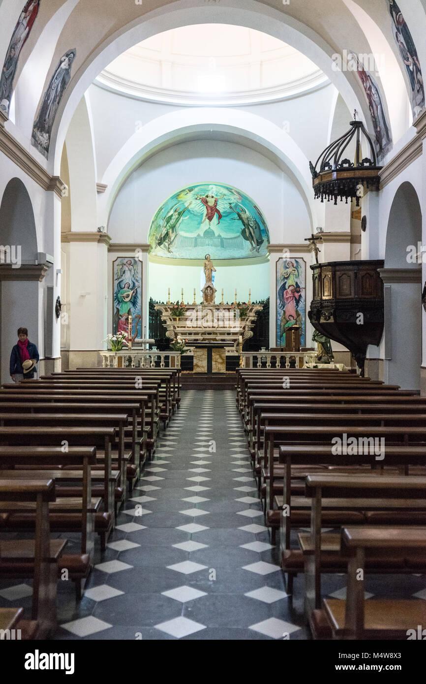 San Paolo in Olbia, Sardegna - Stock Image