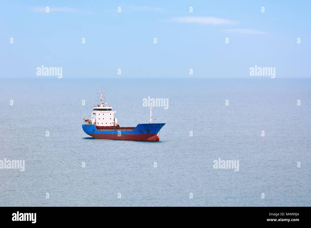 General Cargo Ship - Stock Image