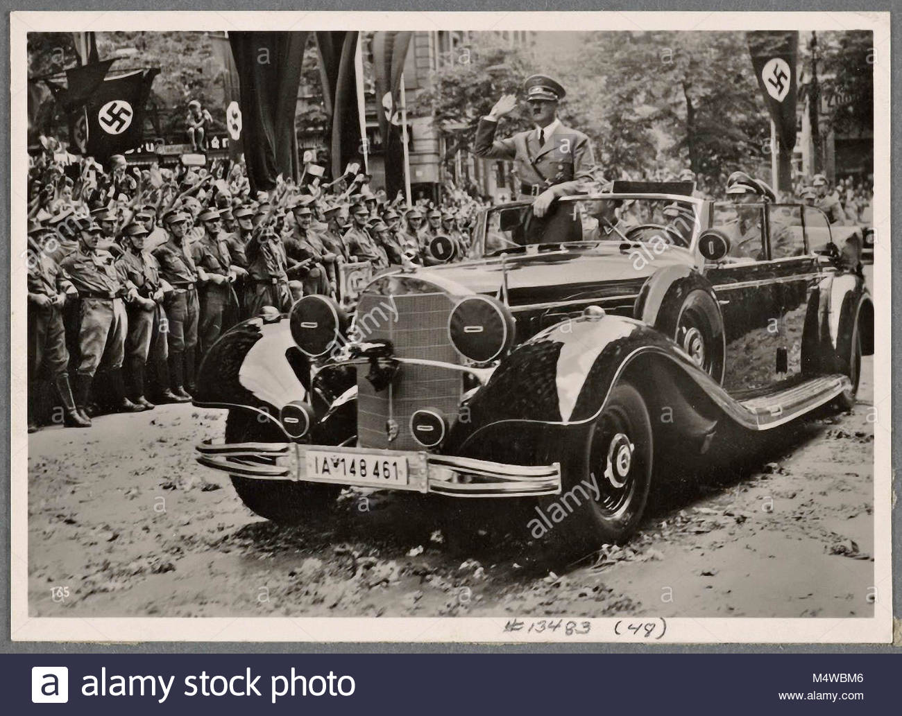 On July 6th, 1940, when the Führer returned to the German capital after the end of the campaign in France, - Stock Image