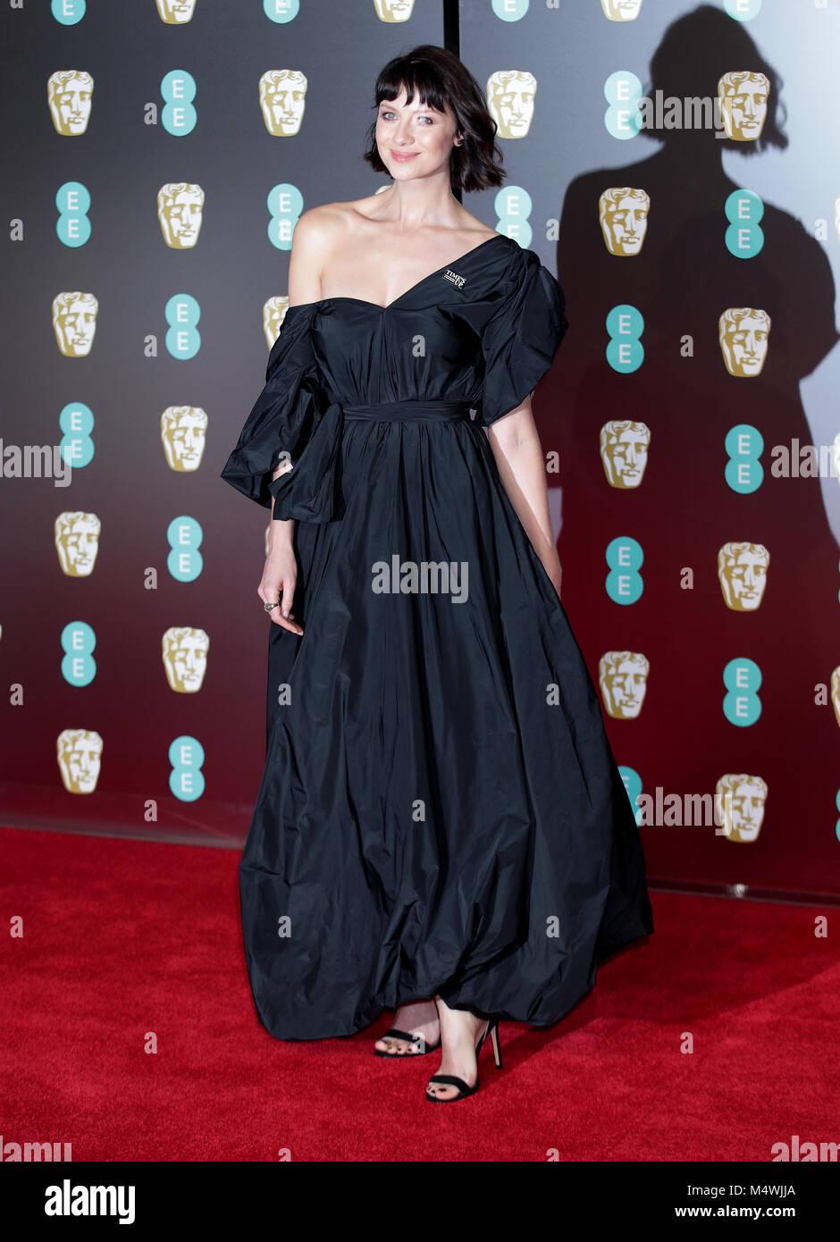 Caitriona Balfe attending the EE British Academy Film Awards
