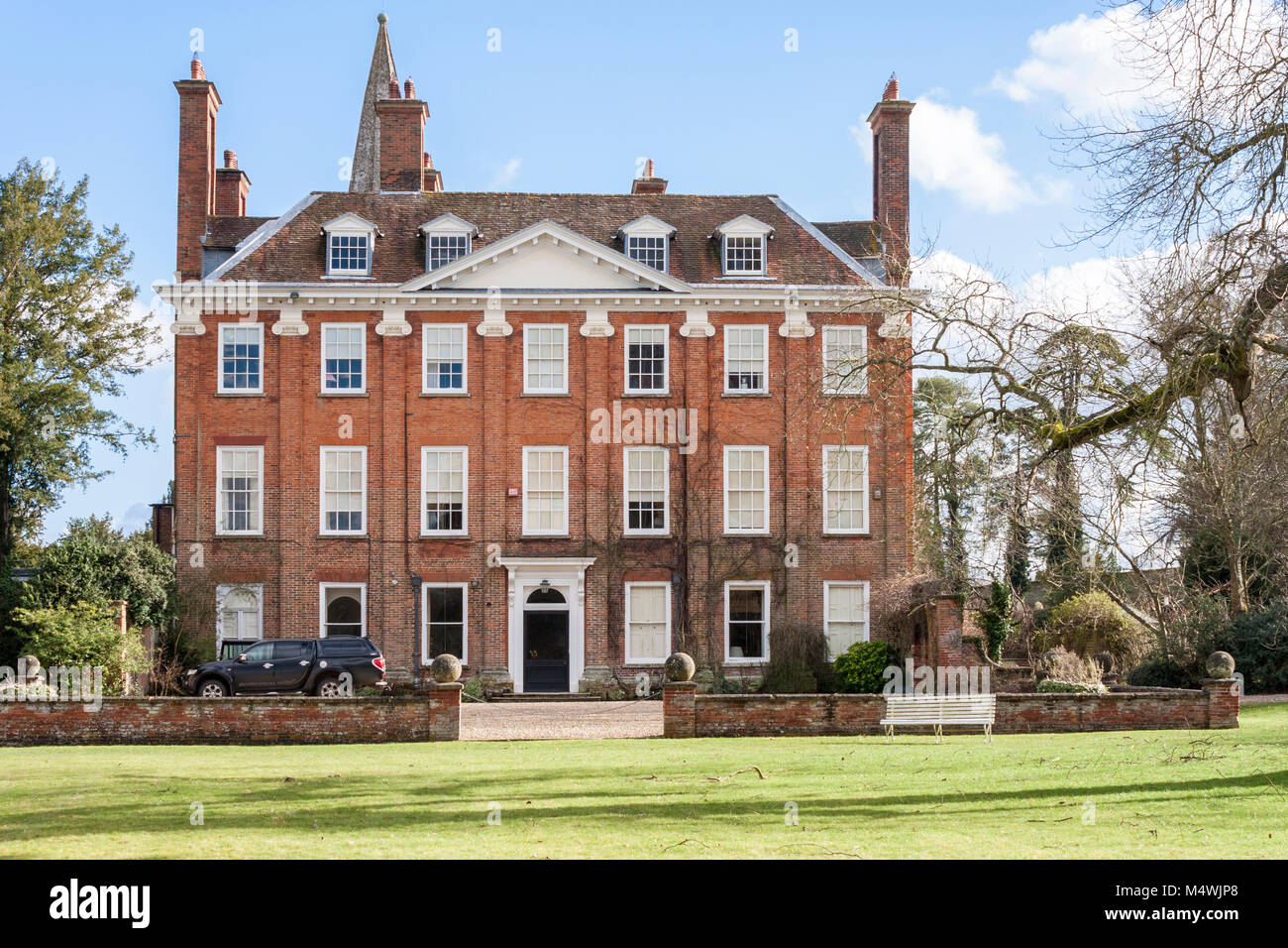 Welford Park country house, well known as the location for The Great British Bake Off TV show - Stock Image