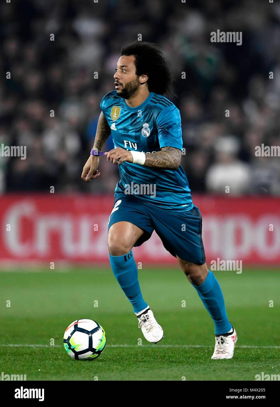 6338756ee7f The player Marcelo Vieira Da Silva of the Real Madrid during the football  match belonging to