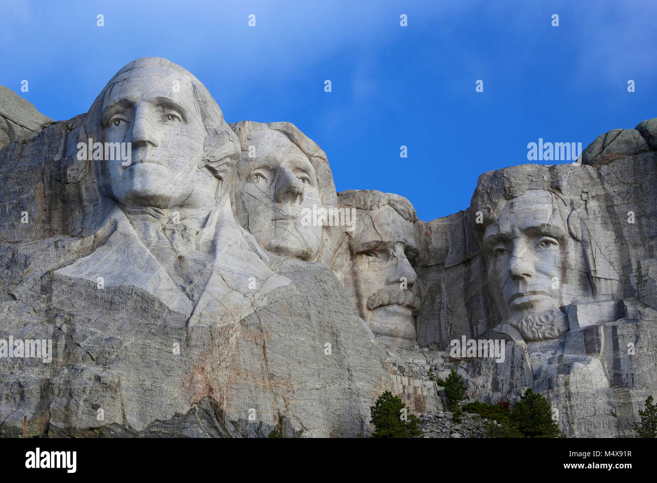 Mount Rushmore National Monument American Presidents Stock Photo
