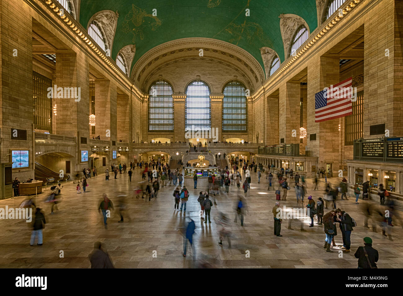 Grand Central Terminal in Midtown Manhattan. - Stock Image