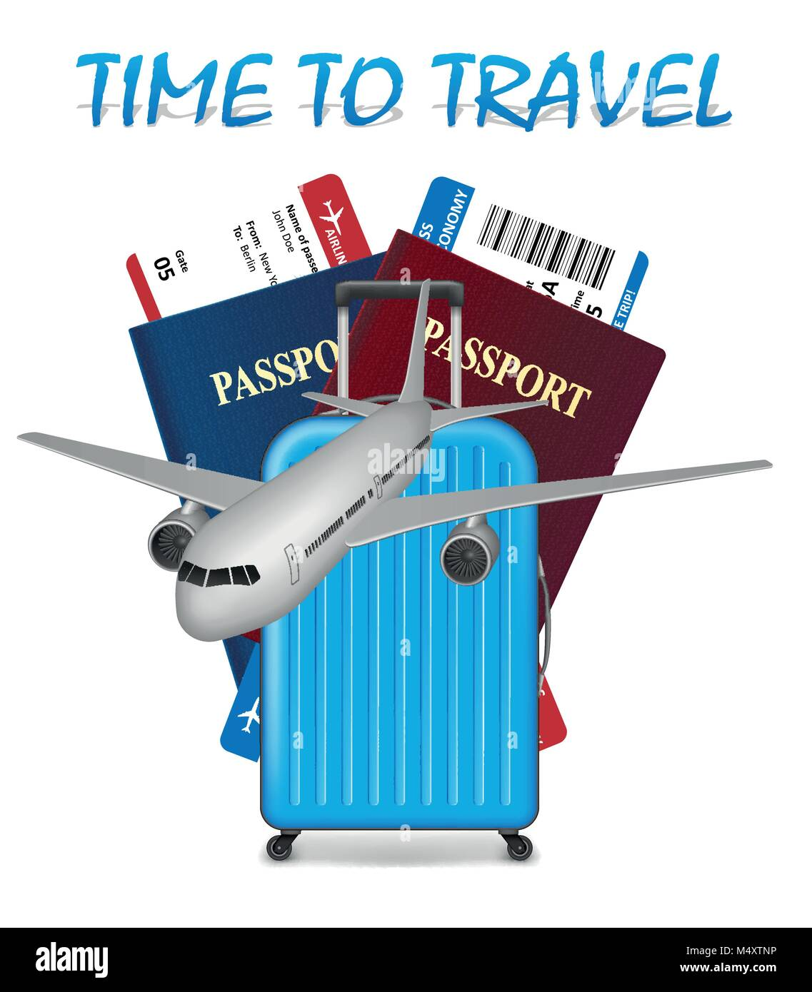 260f4bd5d6 Air travel international vacation concept. Business travel banner with  airline tickets