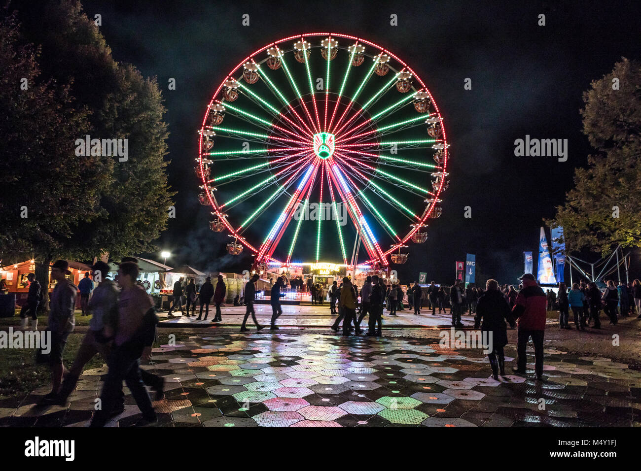 Impressions 27. Open air in Zofingen - Stock Image