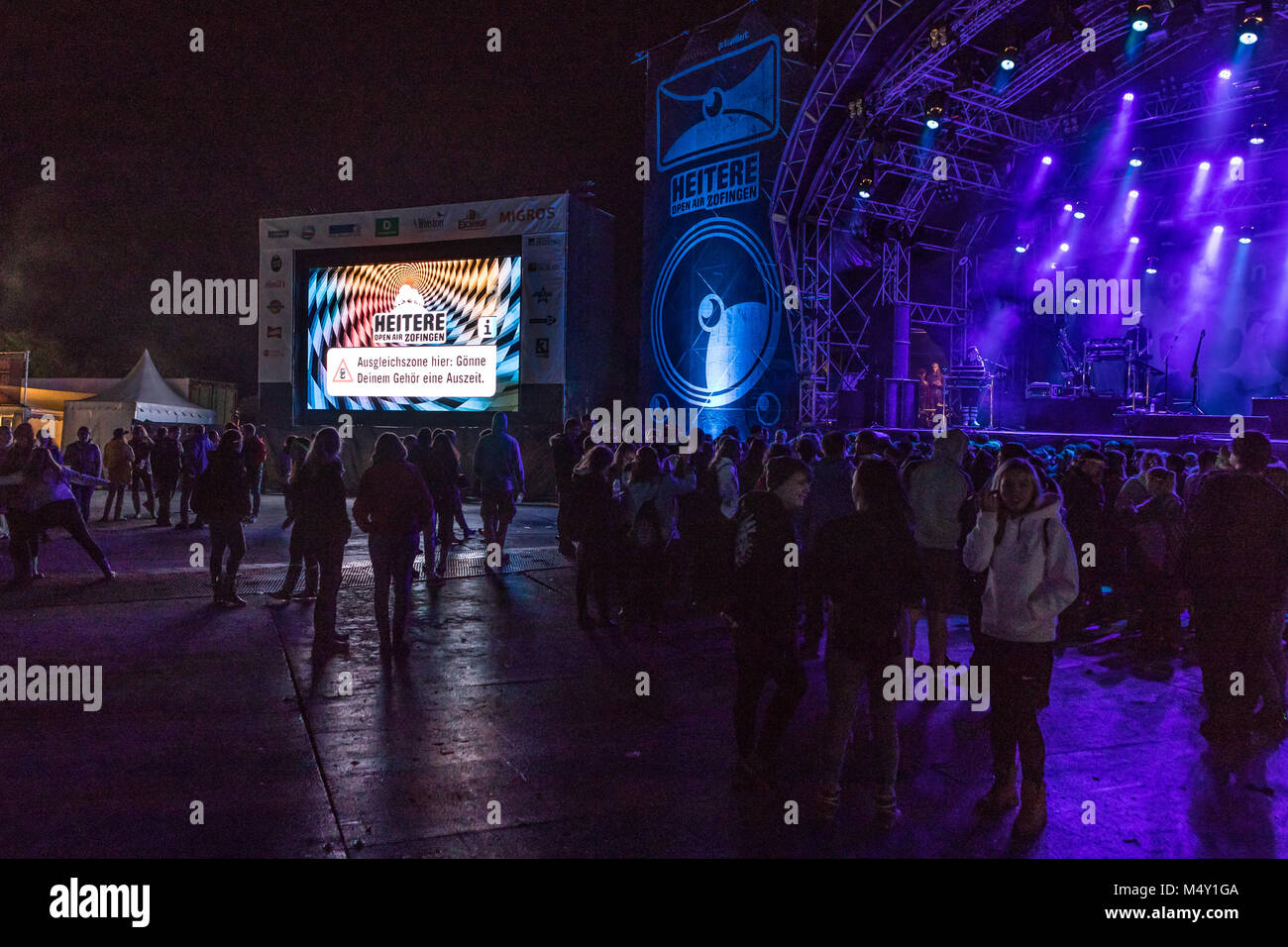 Impressions 27. Open Open Air in Zofingen - Stock Image