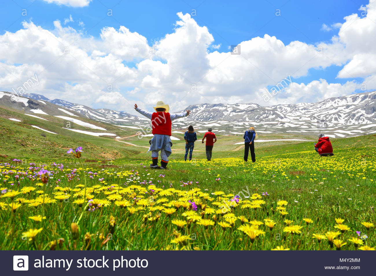 Spectacular nature sightseeing and fascinating landscapes - Stock Image