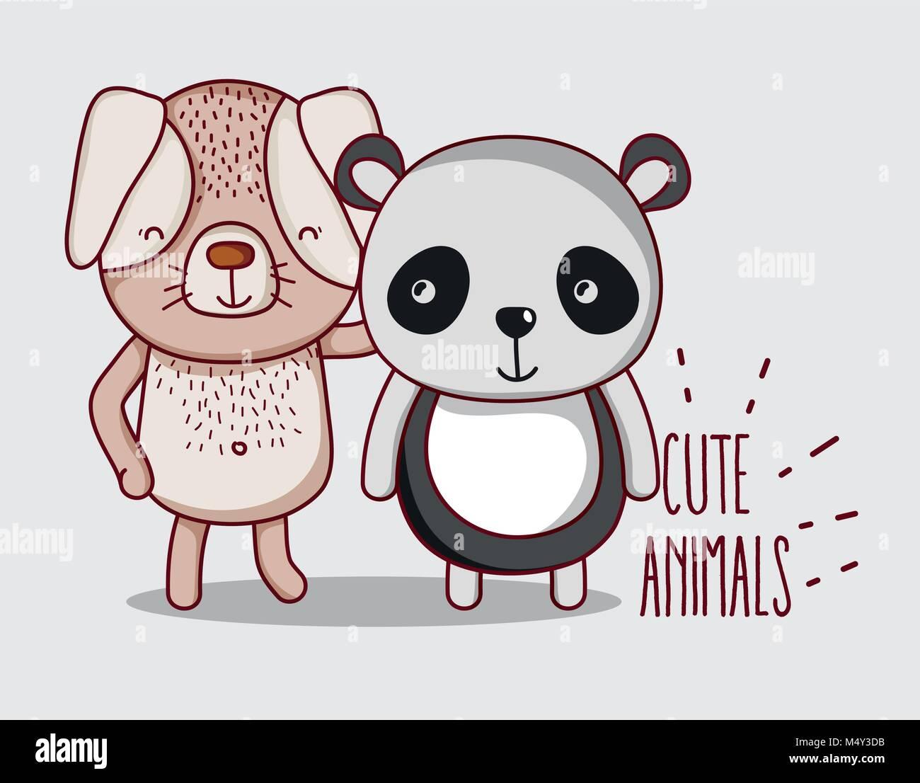 Panda Bear Stock Vector Images Alamy