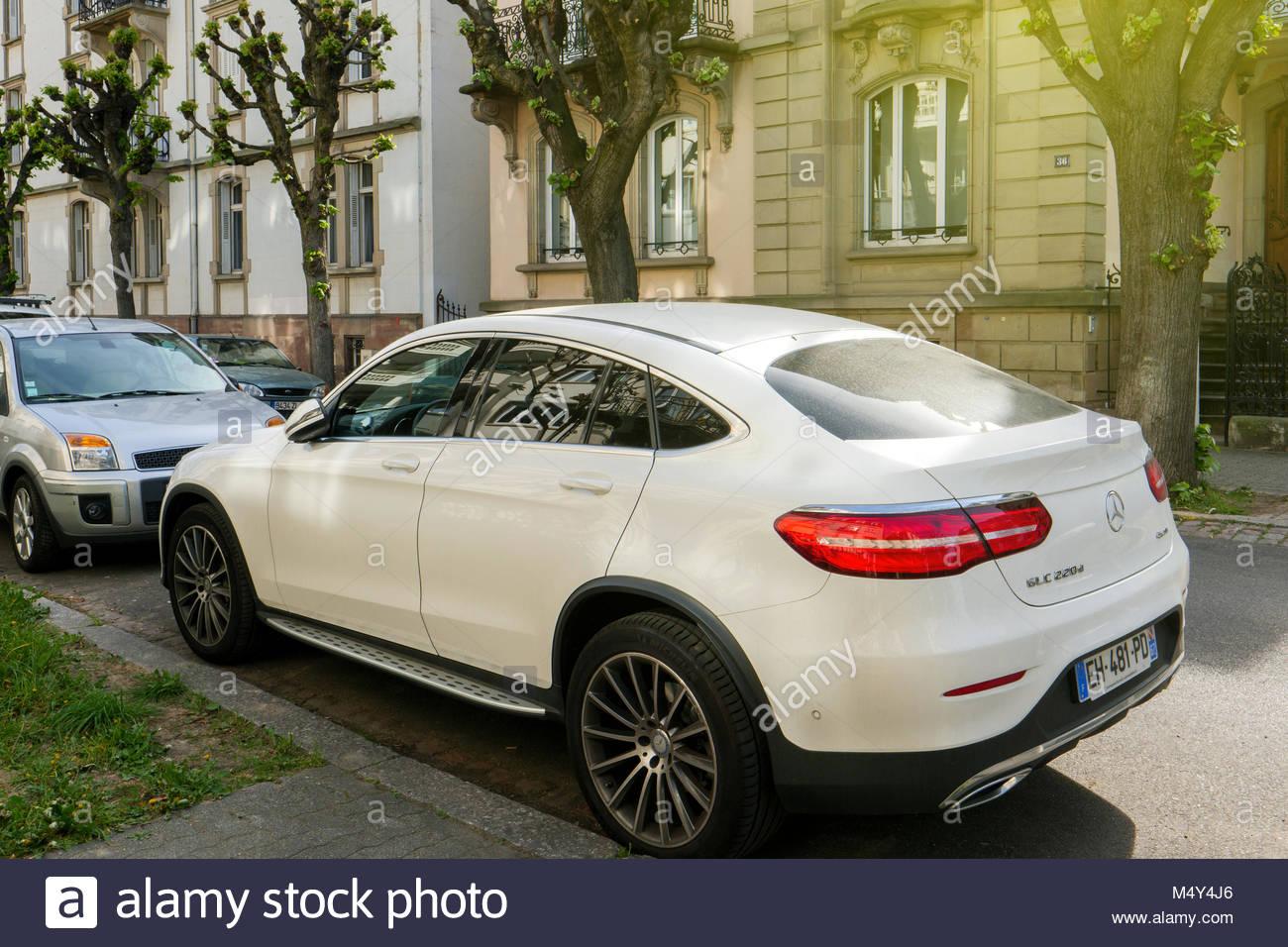 Mercedes Benz GLC 220d - Stock Image