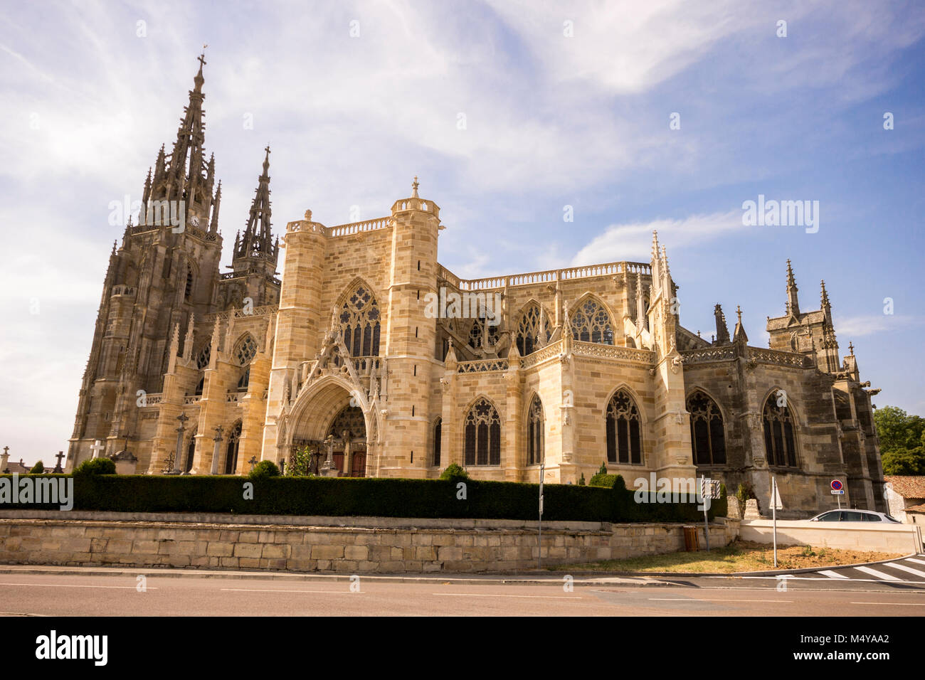The Basilique Notre-Dame de l'Épine (Basilica of Our Lady of the Thorn), a Roman Catholic basilica in the - Stock Image