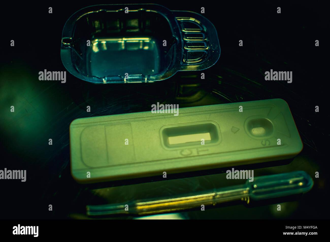 fertility concept fertility test infertility Pregnancy test health care concept - Stock Image