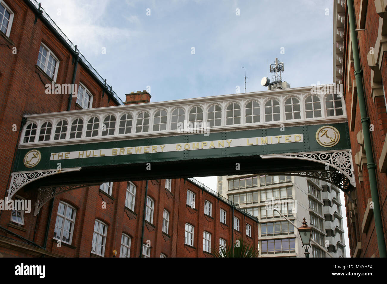 Hull Brewery Company Limited,Silvester Street, Kingston Upon Hull - Stock Image