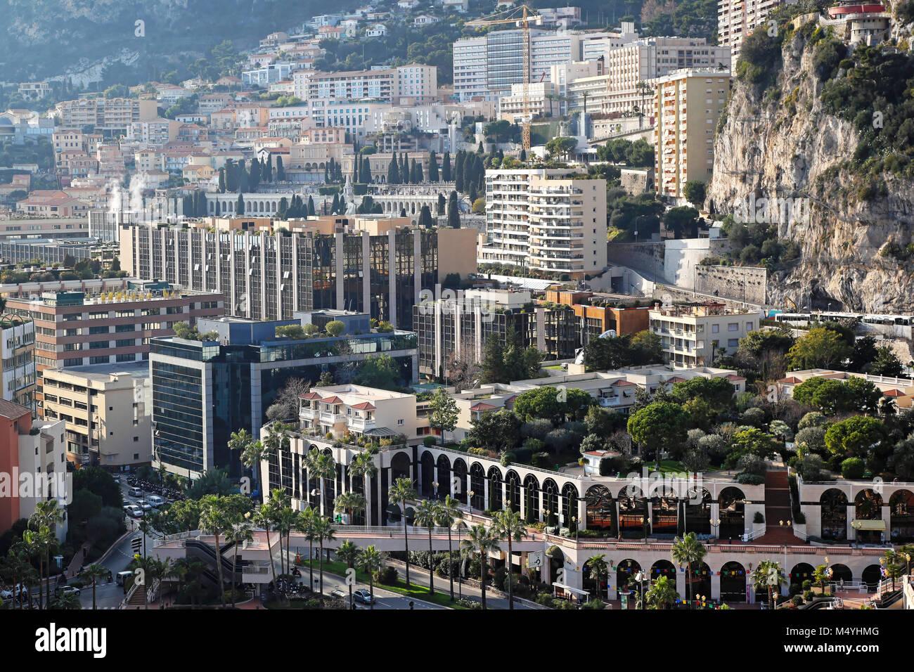 La Colle Monaco - Stock Image